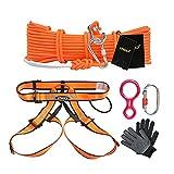 Corda per arrampicata Kit per l'arrampicata Corda all'aperto Filo metallico Corda antincendio Fuoco a molti piani Fuga di sicurezza Corda di sicurezza Cavo di sicurezza Kit di emergenza antincendio Ou