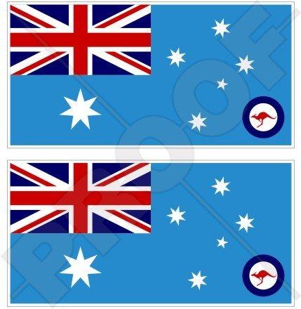australia-airforce-bandiera-raaf-3-75-mm-vinile-paraurti-adesivi-decalcomanie-x2
