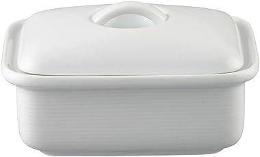 Thomas' Trend Weiß - Butterdose mit Deckel für 250 Gramm Butter - Porzelllan