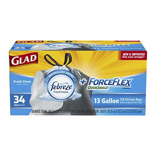 glad-forceflex-odor-shield-tall-kitchen-drawstring-trash-bags-fresh-clean-13-gallon-34-count-pack-of