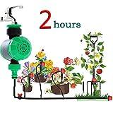 NYAOLE Bewässerungssteuergerät Elektronische Wasser Timer Controller Hausgarten Bewässerungstechnik Gartenarbeit Timer