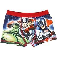 Marvel de Los Vengadores montar Boxer pantalones cortos para niños–rojo