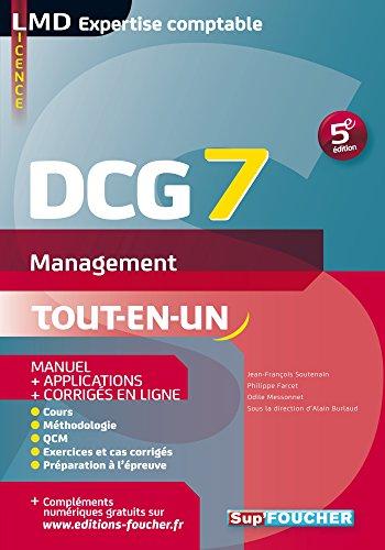 DCG 7 Management Manuel et applications 5e dition