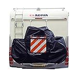 DS Covers Fahrradabdeckung Eagle 2Für Auto Camper schwarz (Schutz Rahmen)/Bike Cover Eagle 2for Car Caravan Carrier Black (Frame Protection)