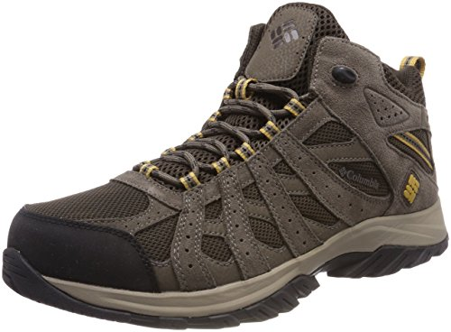 Columbia Canyon Point Mid, Zapatos Impermeables de Senderismo para Hombre, Marrón (Cordovan, Dark Banana 231), 44 EU