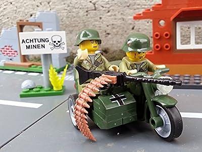 ? Wehrmachtsgespann BMW R75 Motorrad mit Beiwagen inkl. Wehrmacht Soldaten - Cobi Upgrade 2149 ? von Modbrix