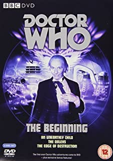 Doctor Who - The Beginning (An Unearthly Child [1963] / The Daleks [1963] / The Edge of Destruction [1964]) [DVD] (B000C6EMTC) | Amazon Products