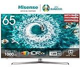 Hisense H65U8B 165 cm (65 Zoll) Fernseher (4K Ultra HD, HDR 1000, DolbyVision, Triple Tuner,...