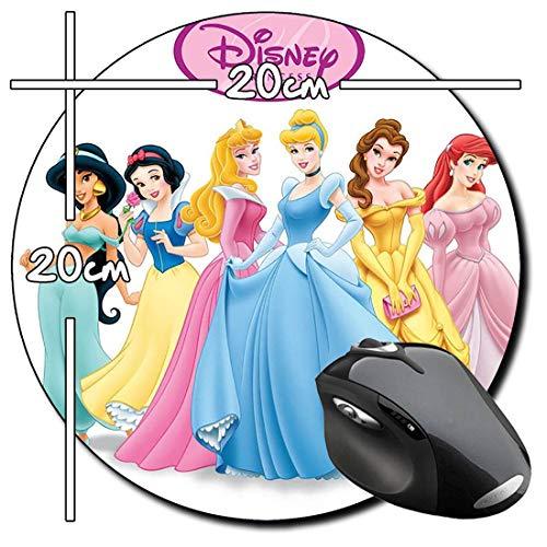 Princesas Disney Disney Princess B Mauspad Round Mousepad PC