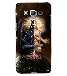 ColourCraft Lord ArdhNareshwar Design Back Case Cover for SAMSUNG GALAXY GRAND PRIME DUOS TV G530BT