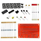XZANTE Kit DIY RF 1Hz-50mhz Crystal Oscillatore Frequenza Contatore Meter Digital LED Tester Meter Frequenzimetro Digitale