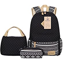 Mochilas Lona Mujer Mochila Escolar Casual Para Chicas backpack for girls 3pcs