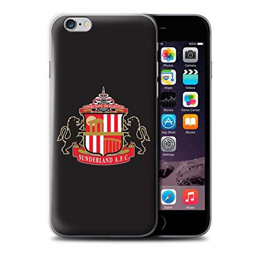 Offiziell Sunderland AFC Hülle / Case für Apple iPhone 6S / Pack 6pcs Muster / SAFC Fußball Crest Kollektion Schwarz