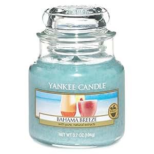 yankee candle duftkerze im glas duft bahama breeze s. Black Bedroom Furniture Sets. Home Design Ideas