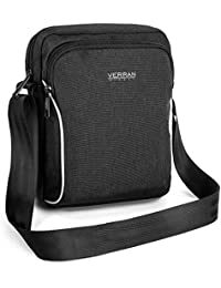 Verran Cross Body Bag for Man - Vintage Messenger Bag Mens - Travel and Sports