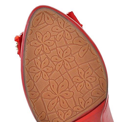 BalaMasa, Scarpe col tacco donna Red