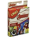 Mattel Uno Marvel Avengers, Multi Color