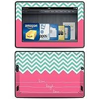 DecalGirl - Skin adhesivo para Kindle Fire HD (3ª generación - modelo de 2013), diseño Live Laugh Love (no compatible para los modelos HD ni HDX de generaciones anteriores)