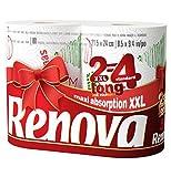 Renova - zwei verzierte Küchenrollen–2Rollen