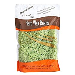 Majik Painless And Stripless Rapid Melt Hard Wax Beads For Hair Removal, Green, 250 Gram, Pack Of 1