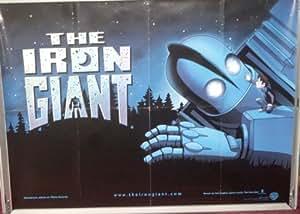 Collectible Iron Giant, The: Advance britannique Quad Affiche de film
