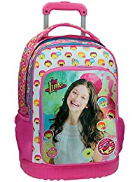 Disney Luna Icons Mochila Escolar, 33.4 Litros, Color Rosa