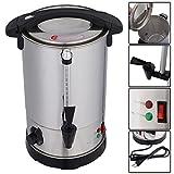 Glühweinkocher Glühweintopf Glühweinkessel Thermostat Wasserkocher Tassenwärmer Teekocher Glühweinautomat Getränkewärmer Edelstahl