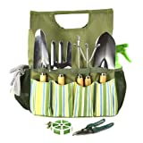Plant Theatre Essential Garden Tool Bag – Includes Tools – Gift for the Gardener