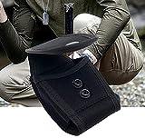 Lyxmy Cintura Bolsa Práctico Bolsa Táctico Portátil Cierre Botón Exterior Esposas Soporte Ligero Ropa Resistente Sports Nylon Funda Caza