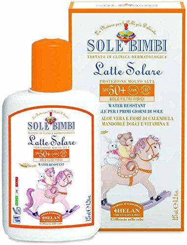 Helan sole bimbi latte solare spf50+ - 125 ml