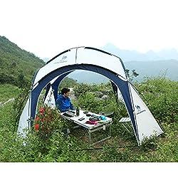 T/g/y/h Y/w/p/e Tente extérieure de dôme de Voyage, Tente Ultra-légère de Bulle Ouverte de Tente de 3 Secondes de Camping appropriée à 5-8 Personnes