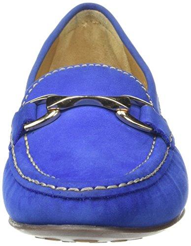 Van Dal Denman, Mocassins Femme Blue (Cobalt Nubuck)