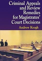 Criminal Appeals Review Remedies P