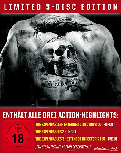 The Expendables Trilogy - Limited Steelbook/Uncut [Blu-ray]