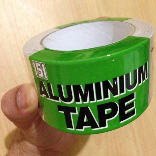 Aluminium Foil Tape Car Exhaust Heating And Ventilation Repair 48mm x 25m Test