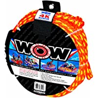 Clear WOW Sports Wow Watersports 18-5140C H2O Proof Dry Sack 12.5 by 28 12.5 by 28 WORLD OF WATERSPORTS