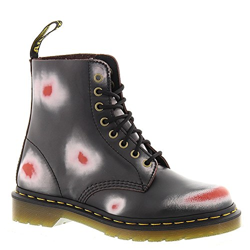 Dr. Martens Pascal Rub Off Navy/White/Red, Chaussures bateau mixte adulte Bleu - Blau (NAVY/WHITE/RED)