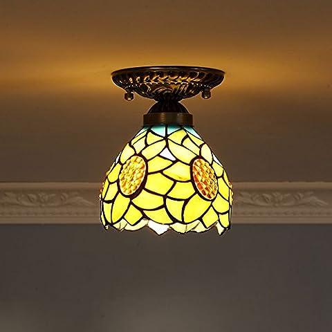 Sonnenblume Ornament Lampe/Gang-Lights/Coffee-Shop-Stil Balkon Veranda Licht/ Decke die Treppe/ Schlafzimmer Licht-A
