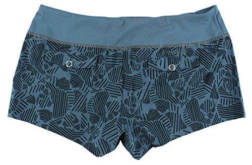 Brooks pour femme Pureproject 8,9cm Imprimé Short Bleu marine Bleu marine/noir