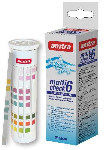 Amtra WA3050076 Multicheck 6-in-1, 50 Teststreifen