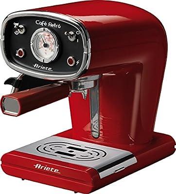 Ariete 1388 Cafe Retro Espresso Coffee Machine, 900 W, Red from Ariete