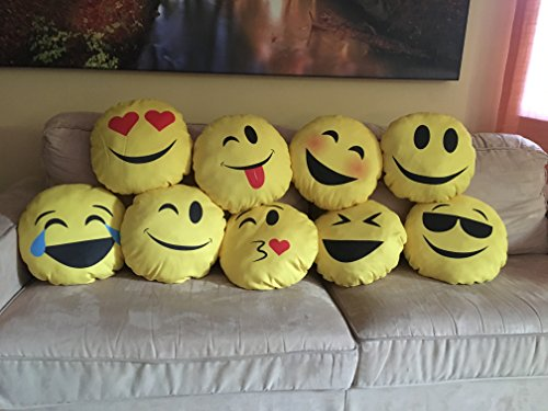 My Custom Style® Kissen Handarbeit in samtiger Mikrofaser Kollektion: Smile _ 1