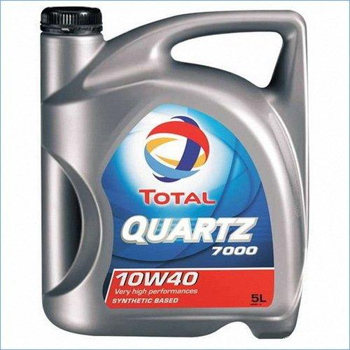 TOTAL - Total Quartz 7000 Energy 10W40 - Aceite para Coche - 5L