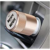 Easypro™ CE & FCC Certified, 3.1A Dual USB,Fast Car Charger Micro USB Included (Assorted Colour) For Samsung Galaxy S8+