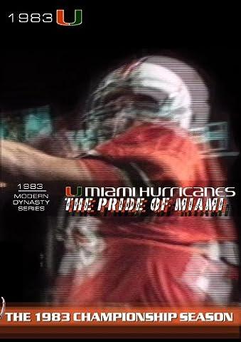 Miami Hurricanes Football 1983 Championship Season