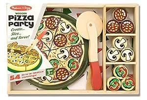 Pizza Party Set in Legno
