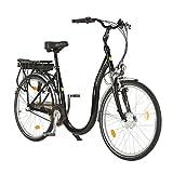 Elektro-Tiefeinsteiger-Fahrrad, Aluminiumrahmen, Akkuleistung 9 Ah