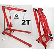 CAISER GRUA Plegable 2 TONELADAS (Rojo)