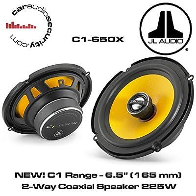 "JL Audio C1-650X - C1 6.5"" (165 mm) 2-Way Coaxial Speaker 225W"