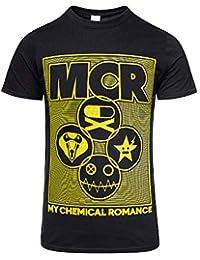 6e543629 My Chemical Romance Unisex-Adult's Official Lock Box T Shirt (Black)